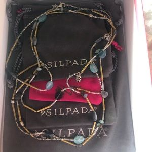 "Silpada N2461 - Olivia Necklace 60"" length"